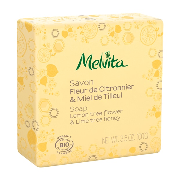 Bio-Seife mit Zitrone und Lindenhonig