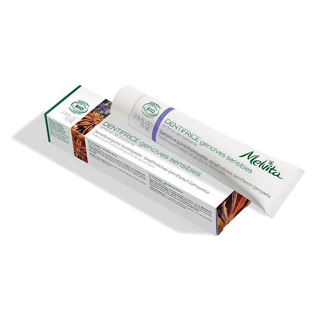 Bio-Zahnpasta für empfindliches Zahnfleisch