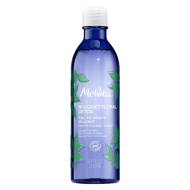 Bio-zertifiziertes Mizellen-Reinigungswasser mit Detox-Wirkung Melvita
