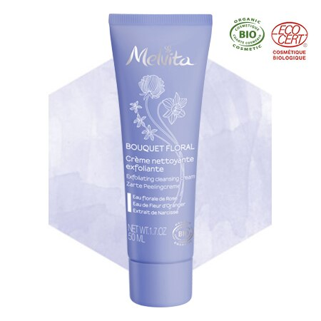 Crema detergente esfoliante viso bio