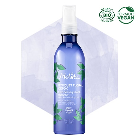 Melvita organic detox cleansing milk
