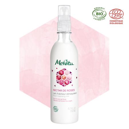 Latte struccante alla rosa bio