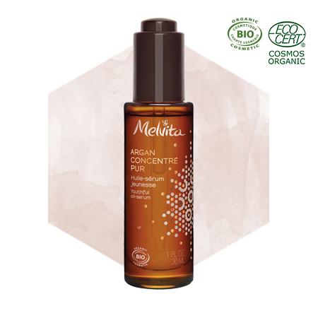 Olio siero anti-età all'olio di argan bio - viso