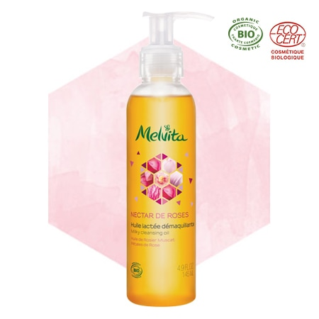 Organic Rose Milky Cleansing Oil