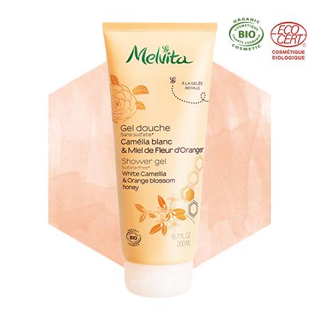 Shower Gel White Camellia & Orange Blossom Honey