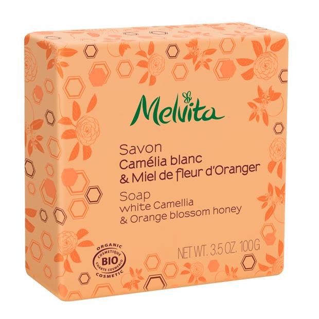 Organic Camellia and Orange Blossom Honey Soap