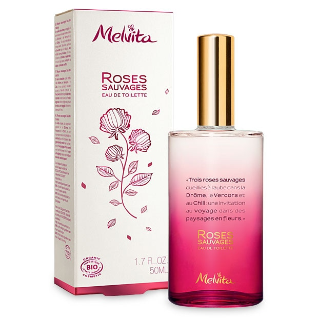 Organic Wild Rose Eau de Toilette