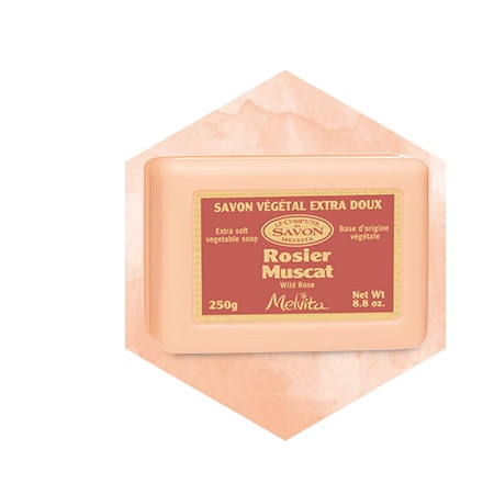 Wild Rose Soap Bar