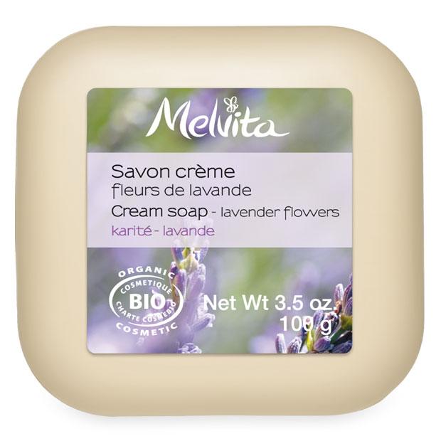 Lavender flowers soap bar