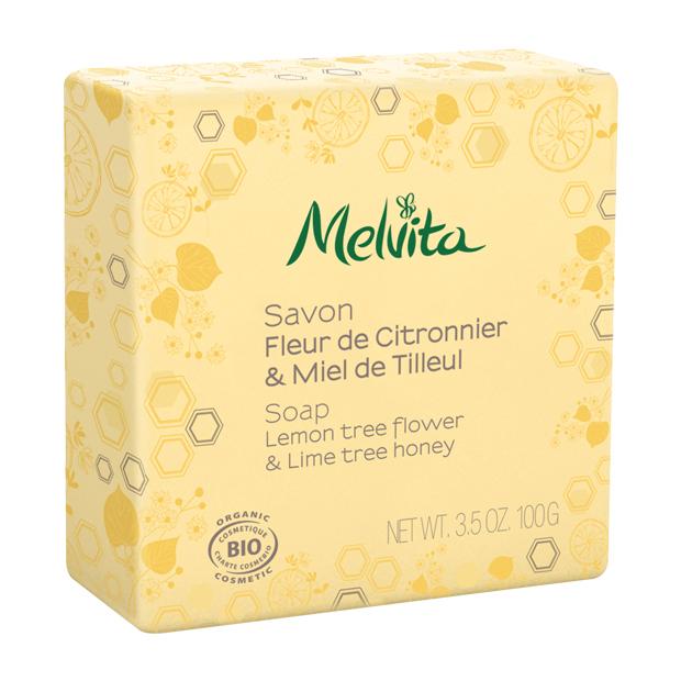 Savon fleur de citronnier et miel de tilleul