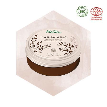 Beurre corporel à l'huile d'argan bio