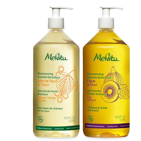 Duo familial shampoing douche 1L