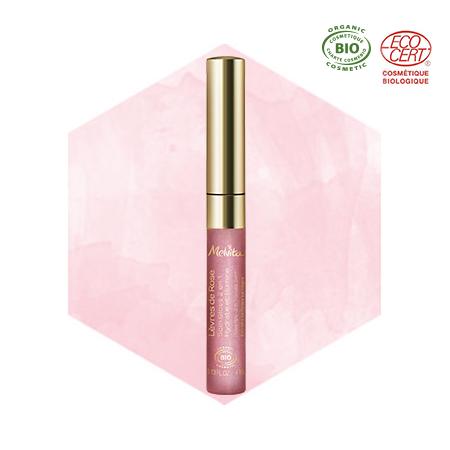 Gloss lèvres à la rose bio