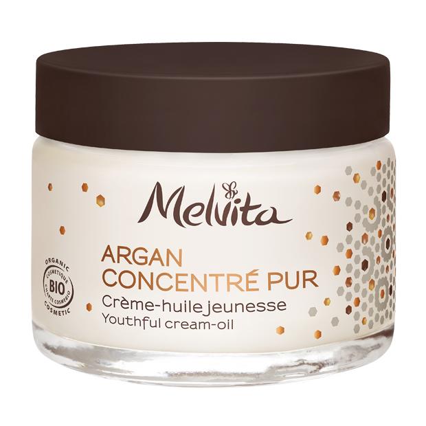 Crème anti-âge à l'huile d'argan bio - visage