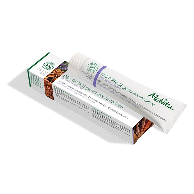 Dentifrice gencives sensibles bio