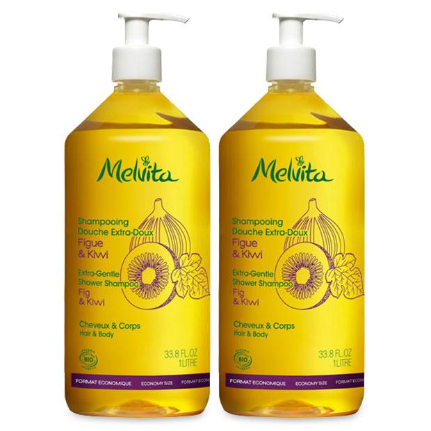 Duo familial shampooing et douche 1L