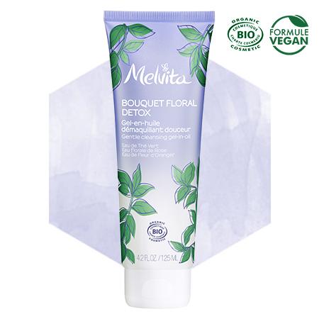 Gentle cleansing gel-in-oil