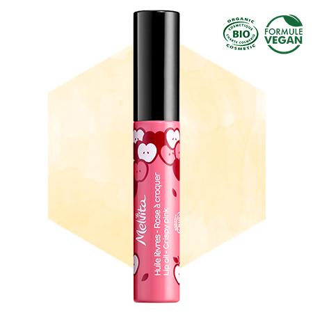 Huile lèvres Rose à croquer