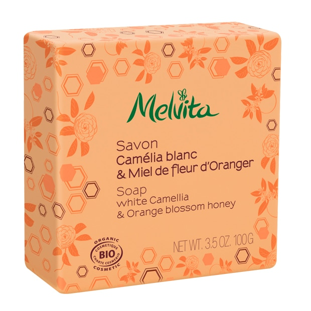 Seife - Weiße Kamelie & Orangenblütenhonig