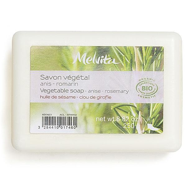 Vegetable anise rosemary soap