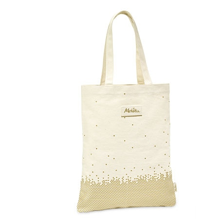 Melvita L'Or BIO tote bag