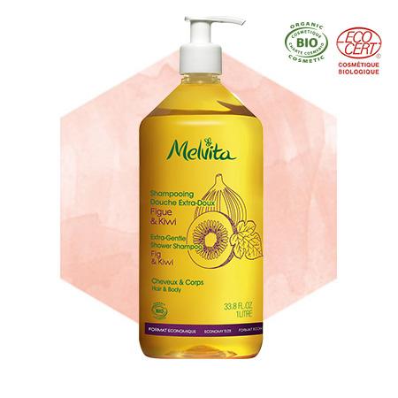 ekološki posebno nežni družinski šampon za lase in telo