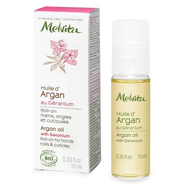 Arganovo olje z geranijo