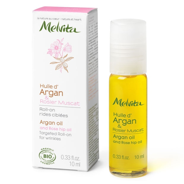 Arganovo olje z navadnim šipkom za obraz