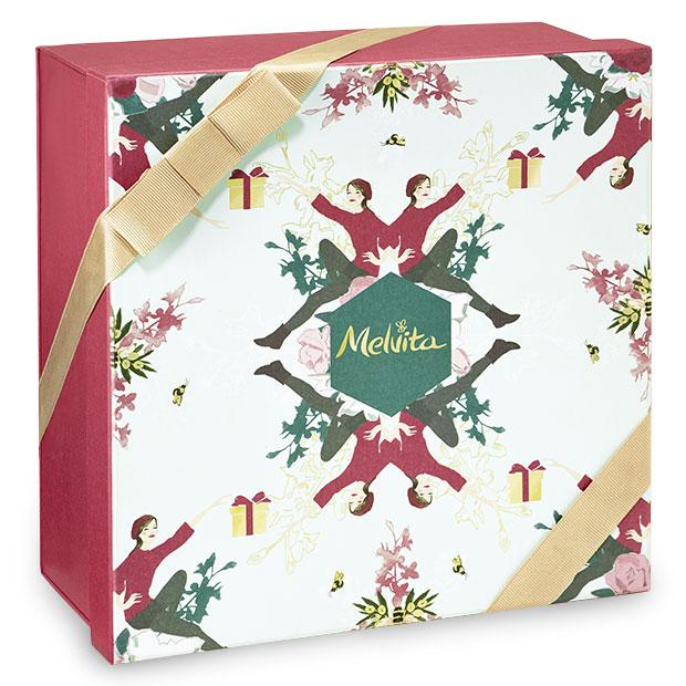 božična darilna škatla Palček