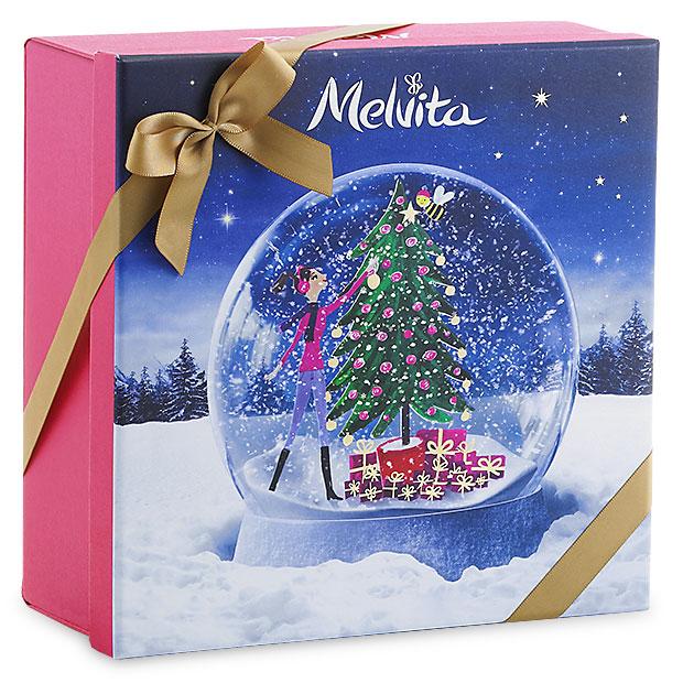 darilna škatla božična krogla