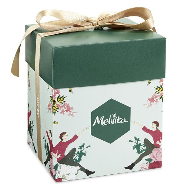 mala darilna škatla zelena