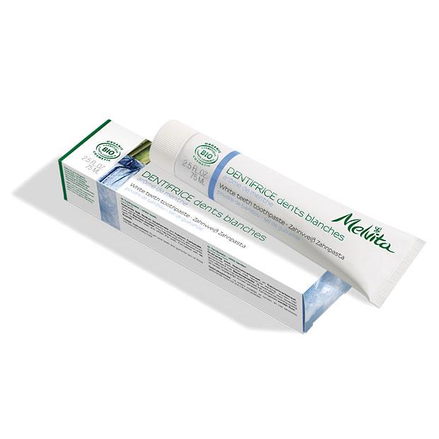 Zobna krema za bele zobe