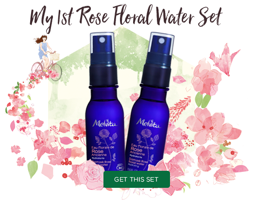 NEW! My 1st Rose Floral Water Set