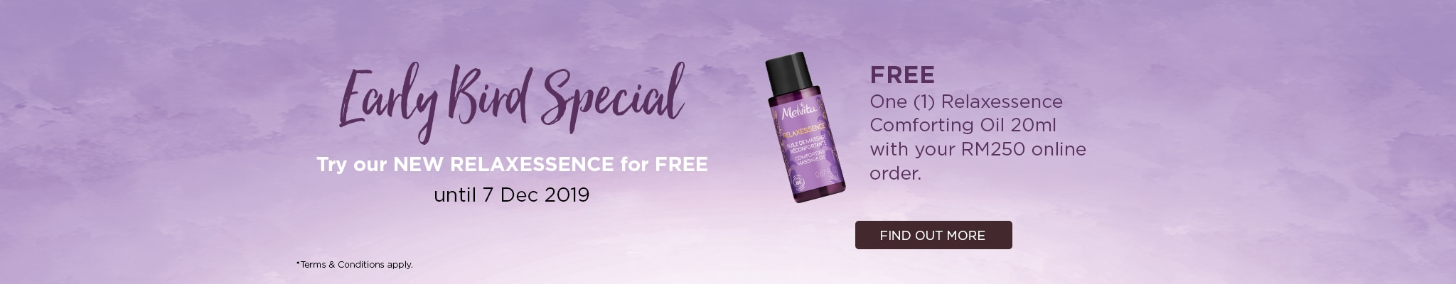 December Early Bird Free Comforting Oil