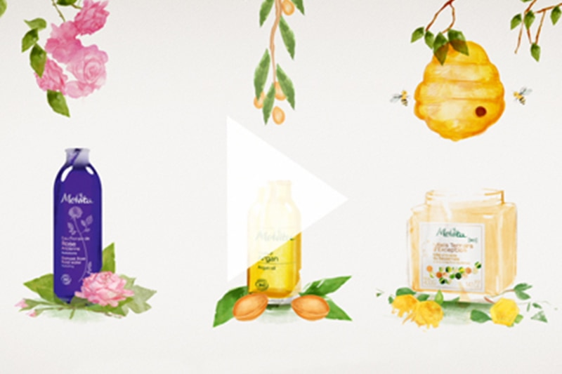 「花の蜜」と「生命」