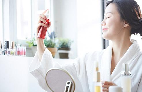化粧水スプレーでスキンケアを!適切な選び方や使い方は?