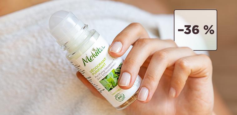 Izberite svoj naravni dezodorant