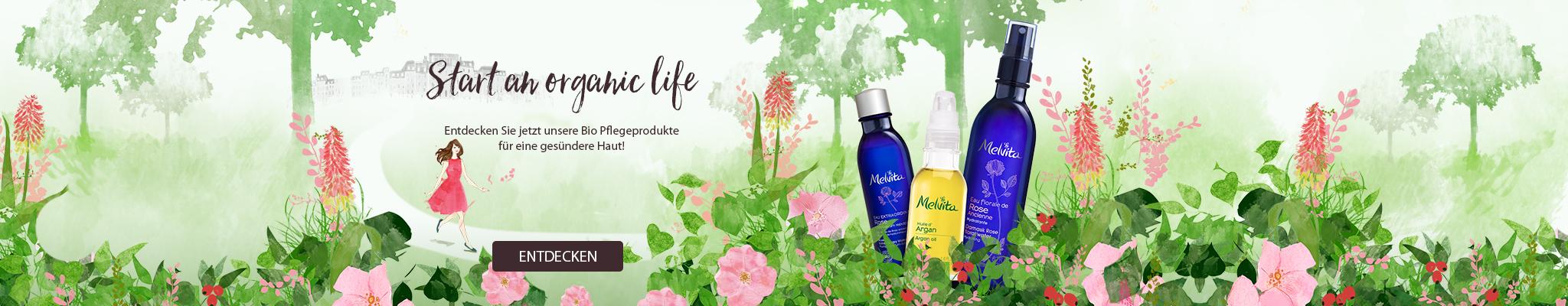 start an organic life
