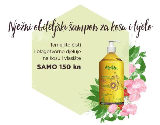 Nježni obiteljski šampon za kosu i tijelo