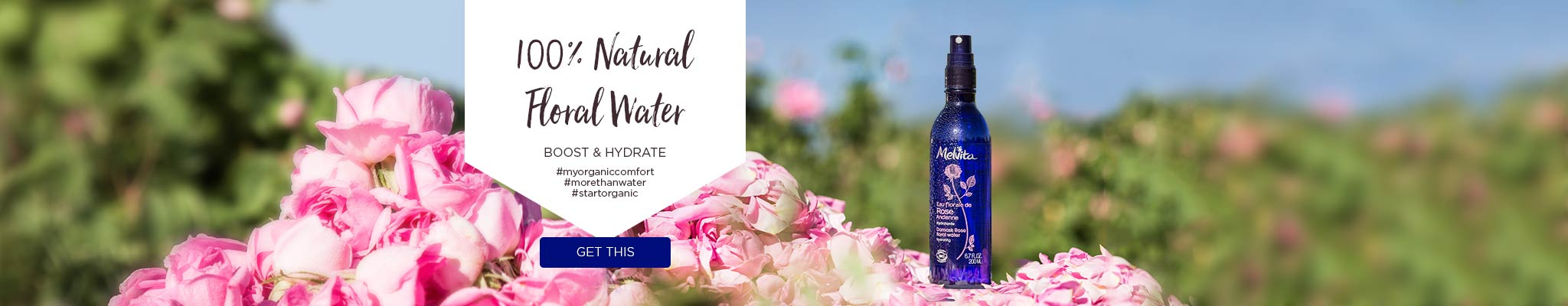100% Natural Floral Water