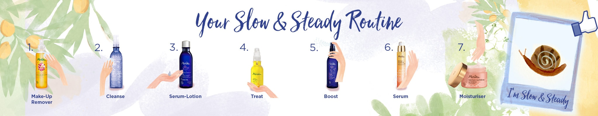 Discover Your Slow and Steady Skincare Routine