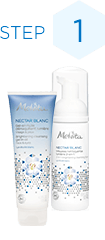 Step1 Cleanser | Cleansing Gel-In-Oil,  Nectar Blanc Brightening Foam