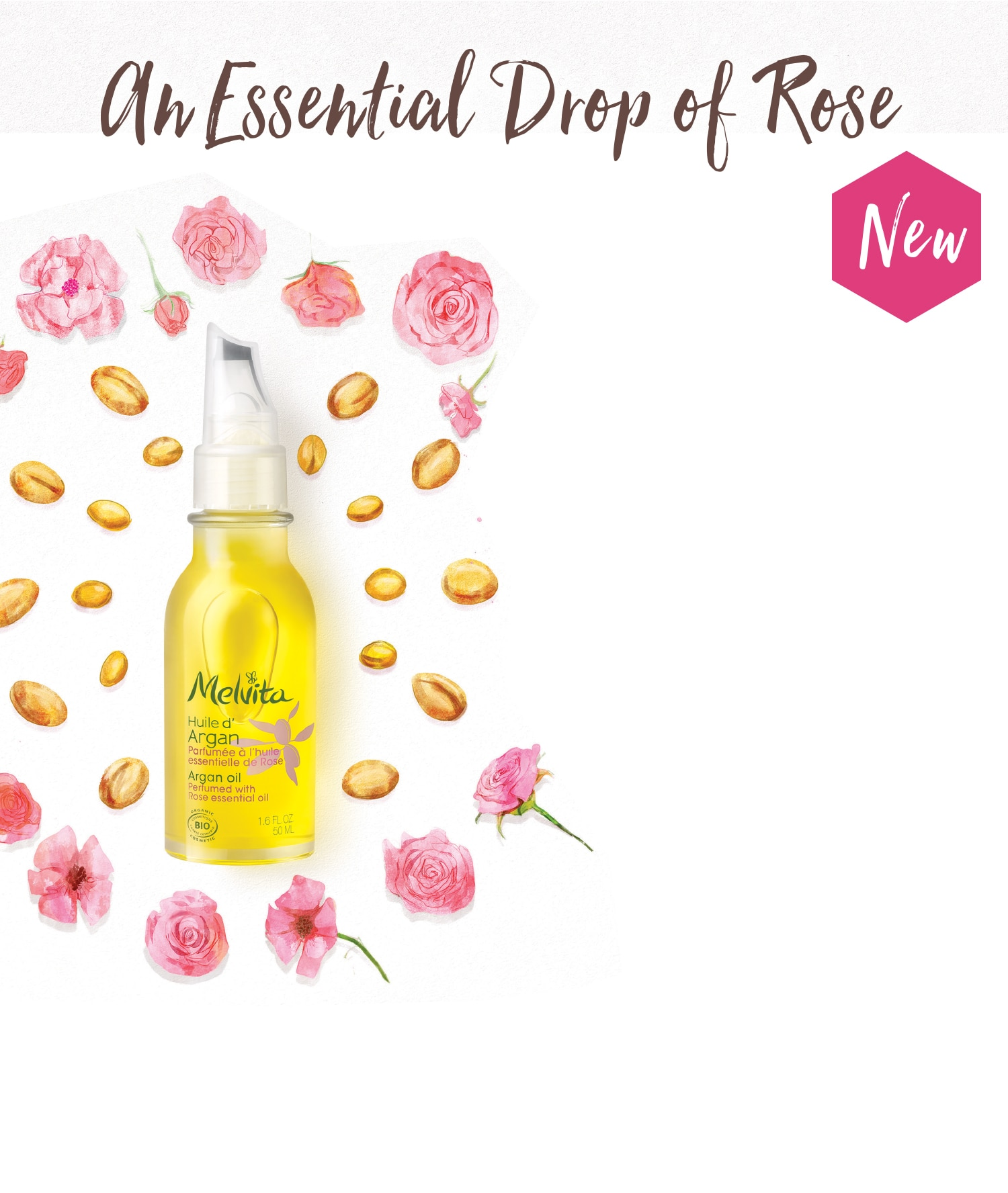 An Essential Drop of Rose