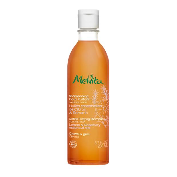 Nežni očiščevalni šampon za mastne lase