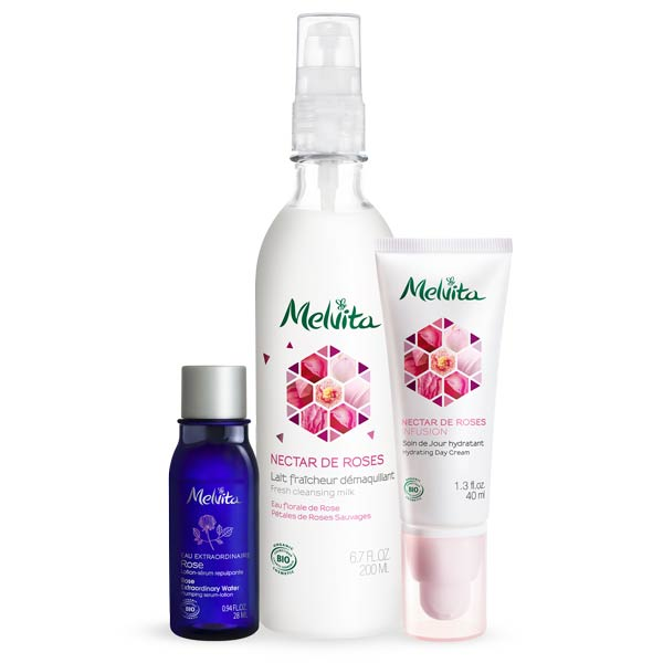 CLEANSE AND HYDRATING ROSE SET