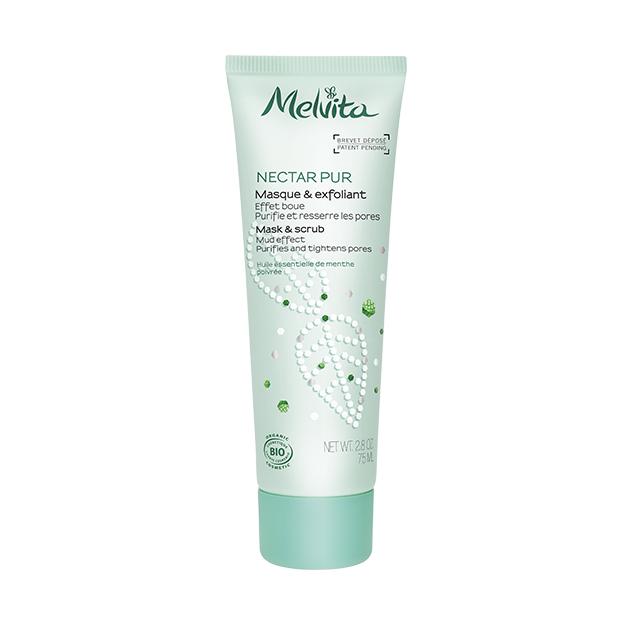 Nectar Pur Organic Mask & Scrub - Mud Effect