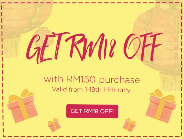 RM18 OFF