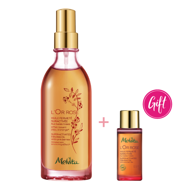 L'Or Rose Super-activated Firming Oil with Pink Berries