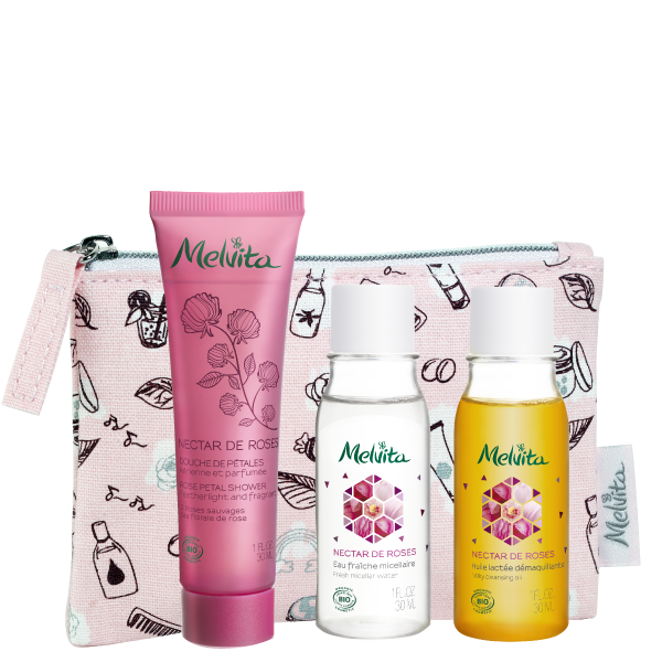 [Online Exclusive]Nectar De Roses Mini Travel Kit