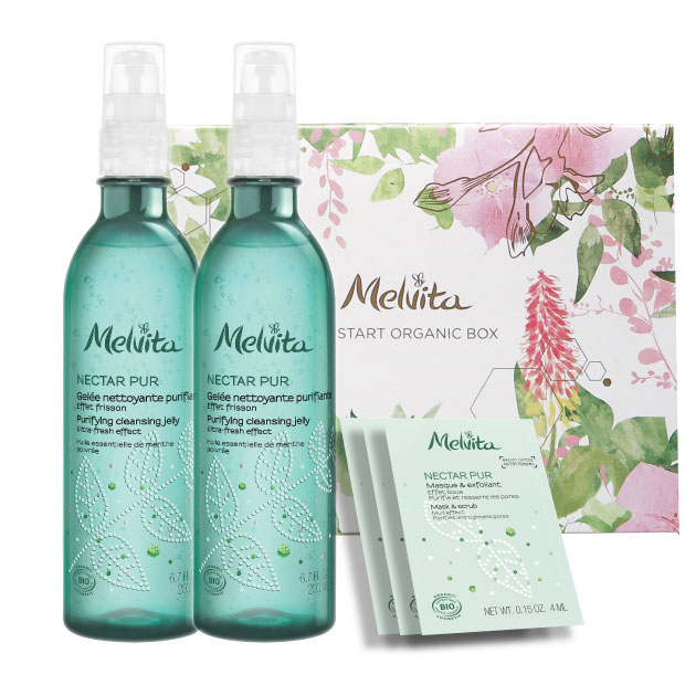 [Online Exclusive]Nectar Pur Organic Purifying and Matifying Set